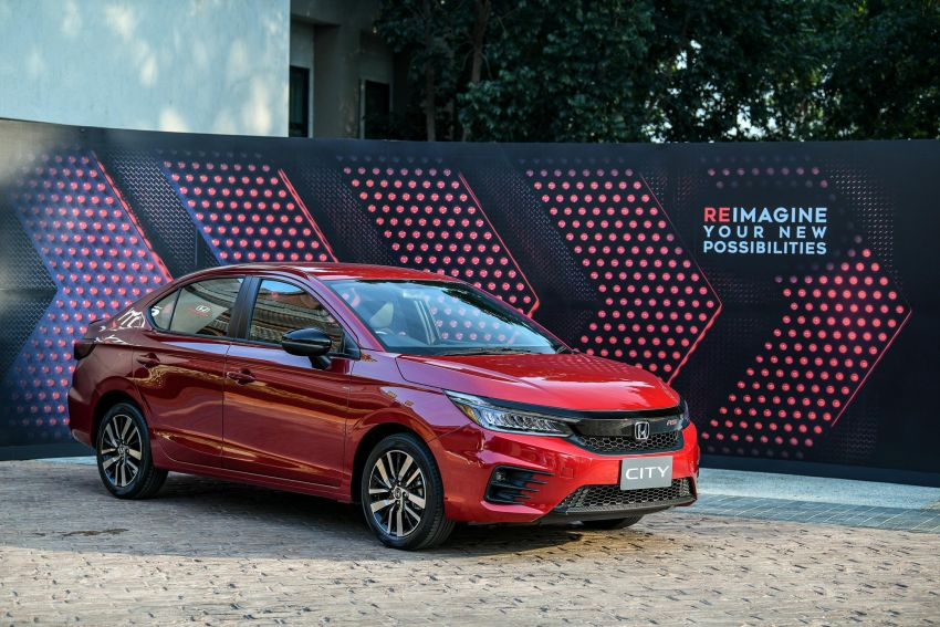 GALLERY: 2020 Honda City 1.0L Turbo RS in Thailand Image #1074517
