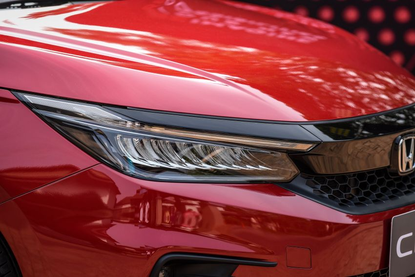 GALLERY: 2020 Honda City 1.0L Turbo RS in Thailand Image #1074519