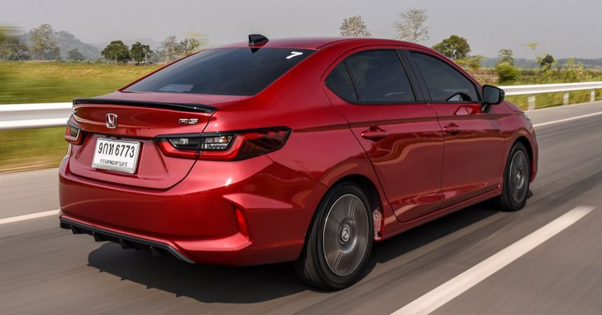 GALLERY: 2020 Honda City 1.0L Turbo RS in Thailand Image #1074494