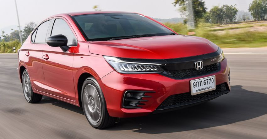 GALLERY: 2020 Honda City 1.0L Turbo RS in Thailand Image #1074495
