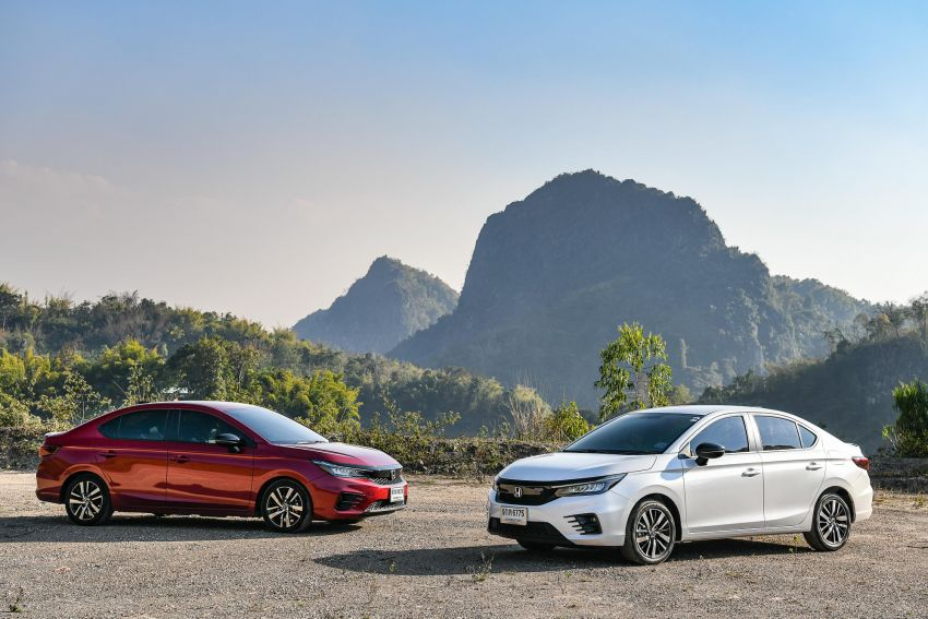 GALLERY: 2020 Honda City 1.0L Turbo RS in Thailand Image #1074498
