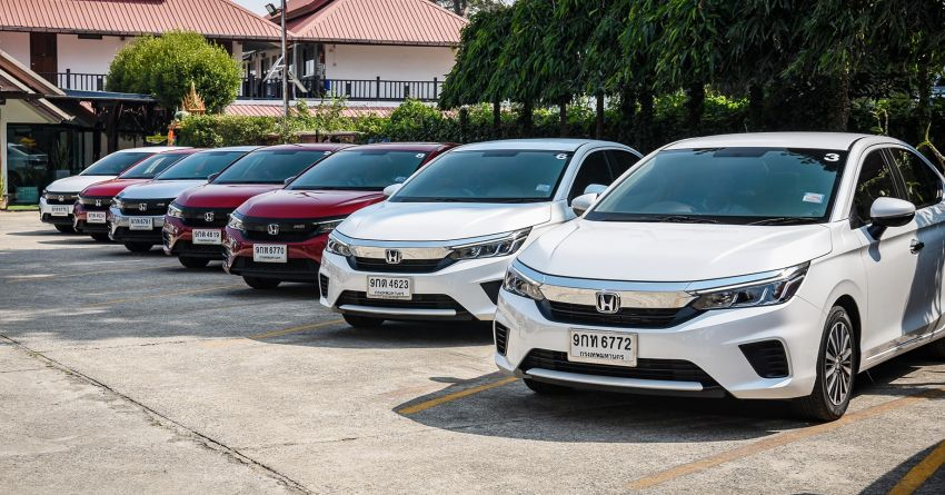 GALLERY: 2020 Honda City 1.0L Turbo RS in Thailand Image #1074500