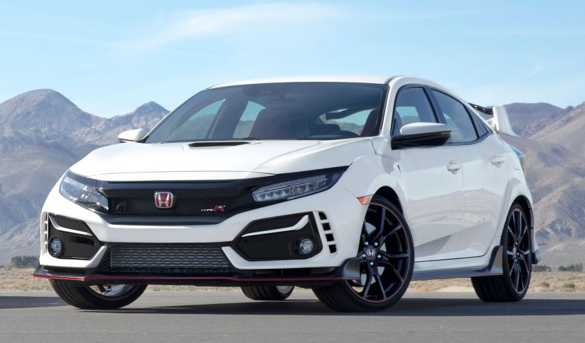 TAS 2020: FK8 Honda Civic Type R facelift official details released – better aero, dynamics and safety Image #1068373