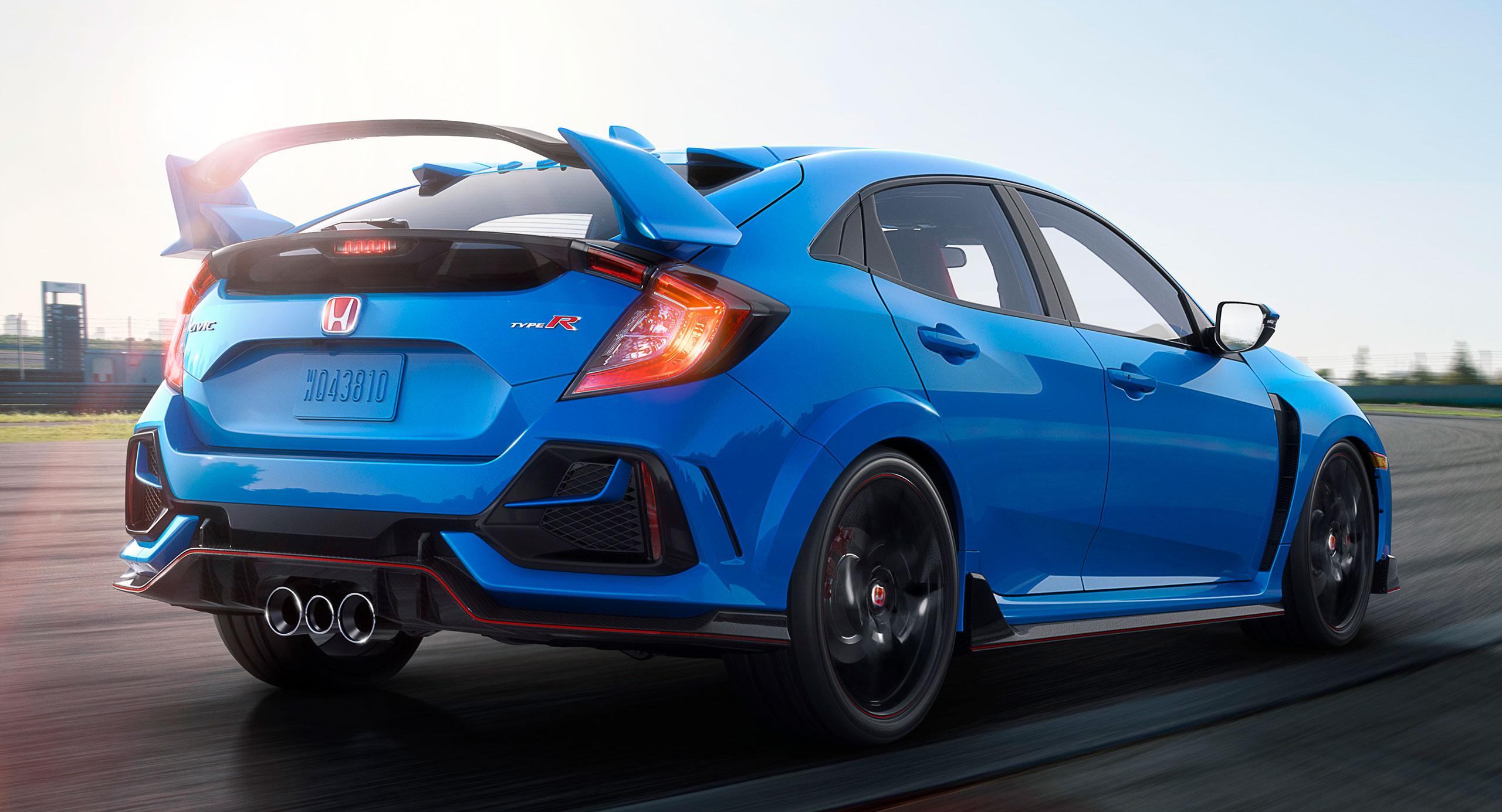 TAS 2020: FK8 Honda Civic Type R facelift official details ...