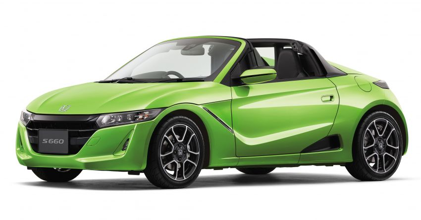 TAS 2020: Facelifted Honda S660 sports car debuts Image #1067815