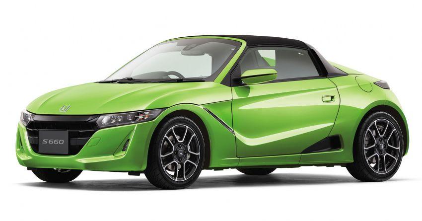 TAS 2020: Facelifted Honda S660 sports car debuts Image #1067830