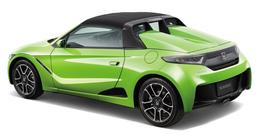TAS 2020: Facelifted Honda S660 sports car debuts Image #1067816