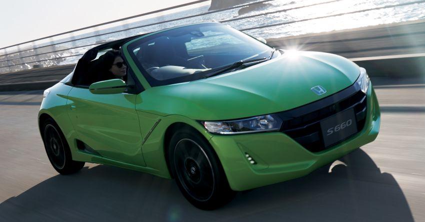TAS 2020: Facelifted Honda S660 sports car debuts Image #1067870