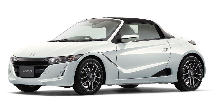 TAS 2020: Facelifted Honda S660 sports car debuts Image #1067823