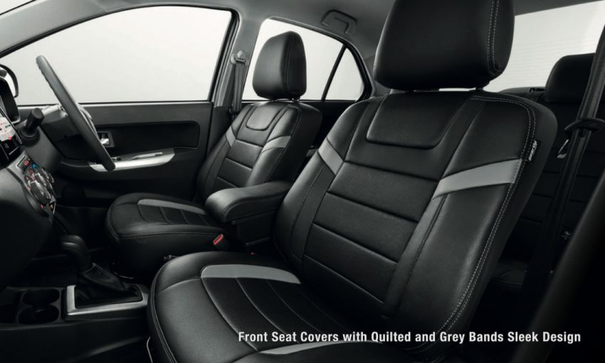 2020 Perodua Bezza GearUp accessories – full bodykit with LED light guides, seat covers, arm rest and more Image #1066010