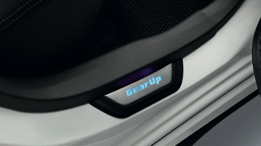 2020 Perodua Bezza GearUp accessories – full bodykit with LED light guides, seat covers, arm rest and more Image #1066013