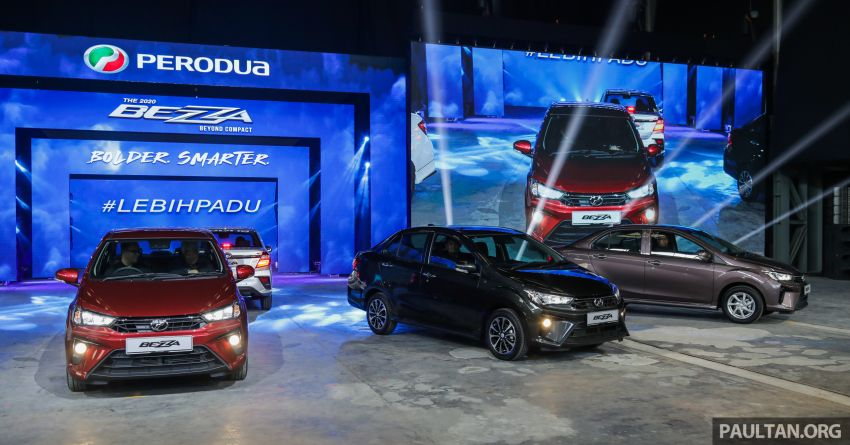 2020 Perodua Bezza facelift – 5,600 units targeted to be delivered by end-January, 4,000 per month after Image #1066565