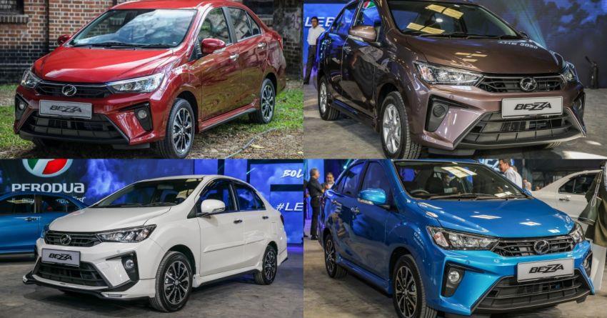 2020 Perodua Bezza - a spec-by-spec comparison Paul Tan ...