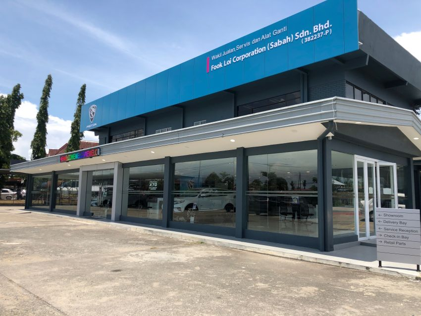 Proton, Fook Loi open new 3S Centre in Tawau, Sabah Image #1070282