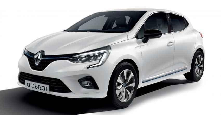 2020 Renault Captur E-Tech Plug-in, Clio E-Tech debut Image #1068010