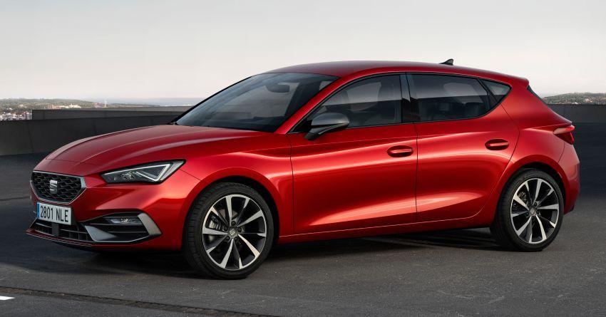 2020 Seat Leon debuts – MQB Evo hatchback, estate; 1.4 litre TSI petrol plug-in hybrid with 60 km EV range Image #1074582