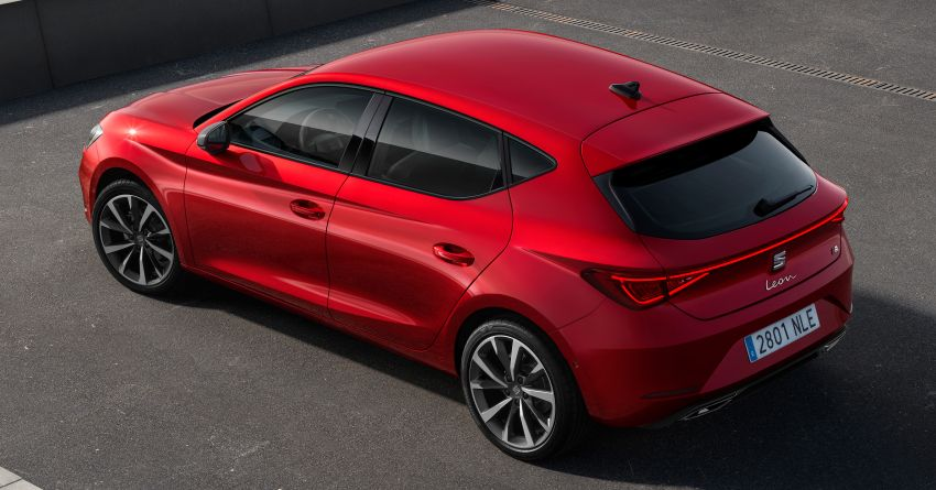 2020 Seat Leon debuts – MQB Evo hatchback, estate; 1.4 litre TSI petrol plug-in hybrid with 60 km EV range Image #1074584