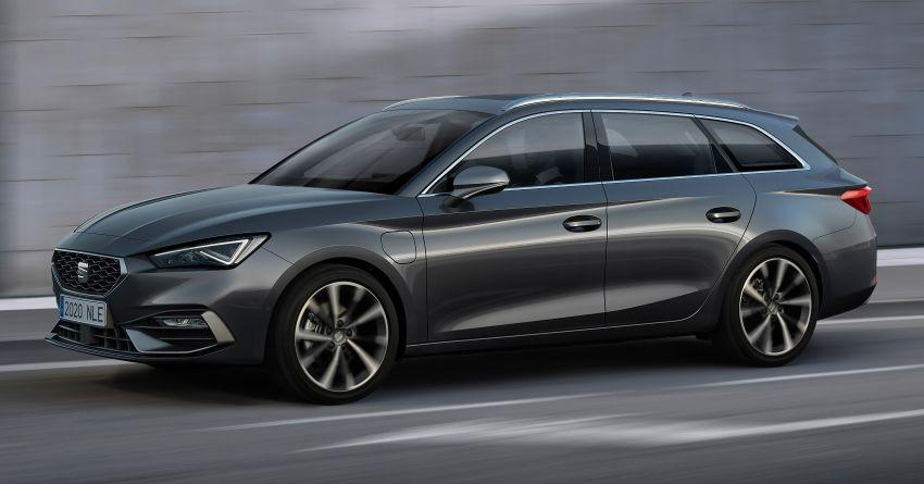 2020 Seat Leon debuts – MQB Evo hatchback, estate; 1.4 litre TSI petrol plug-in hybrid with 60 km EV range Image #1074593