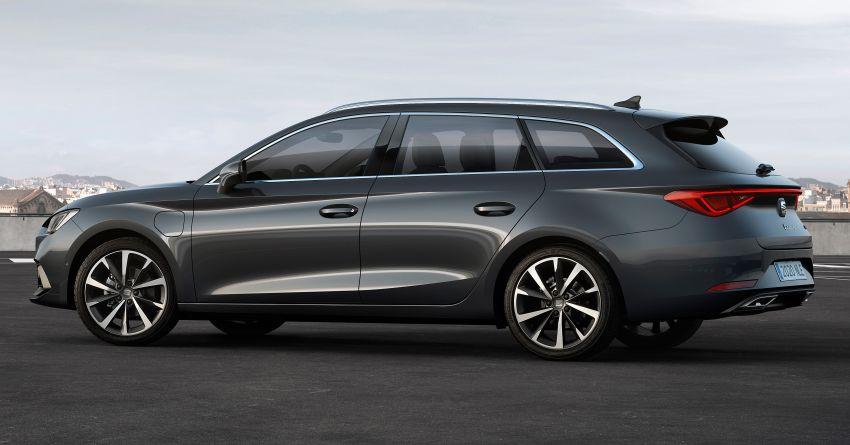 2020 Seat Leon debuts – MQB Evo hatchback, estate; 1.4 litre TSI petrol plug-in hybrid with 60 km EV range Image #1074594