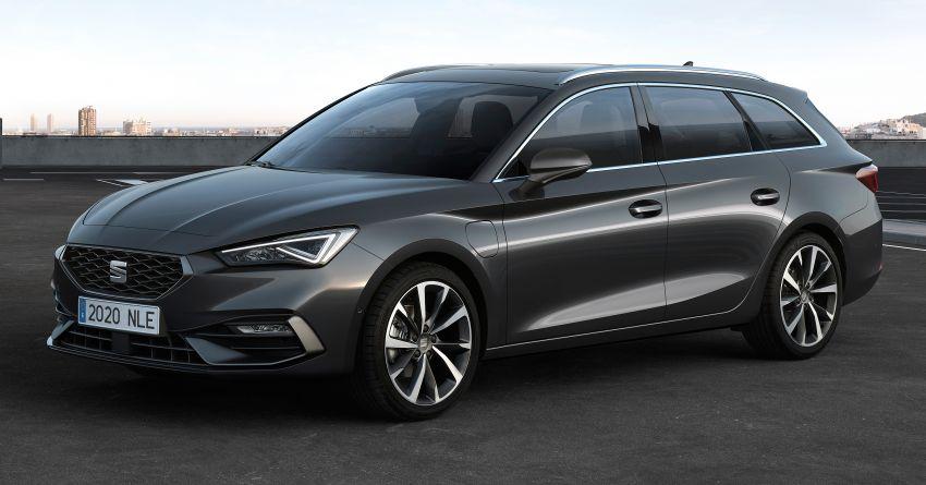 2020 Seat Leon debuts – MQB Evo hatchback, estate; 1.4 litre TSI petrol plug-in hybrid with 60 km EV range Image #1074595