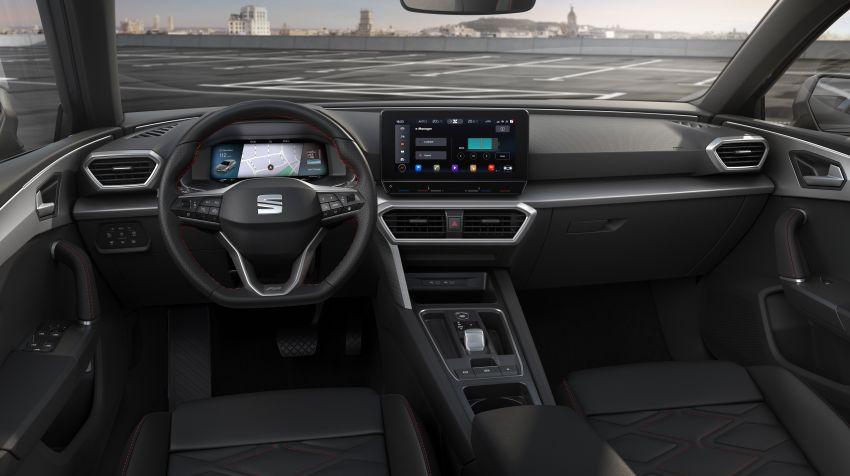 2020 Seat Leon debuts – MQB Evo hatchback, estate; 1.4 litre TSI petrol plug-in hybrid with 60 km EV range Image #1074663