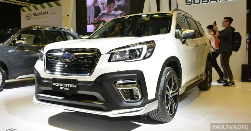 2020 Subaru Forester GT Edition launched in S'pore Image #1066796