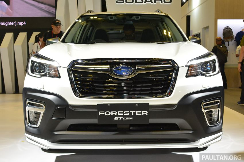 2020 Subaru Forester GT Edition launched in S'pore Image #1066798