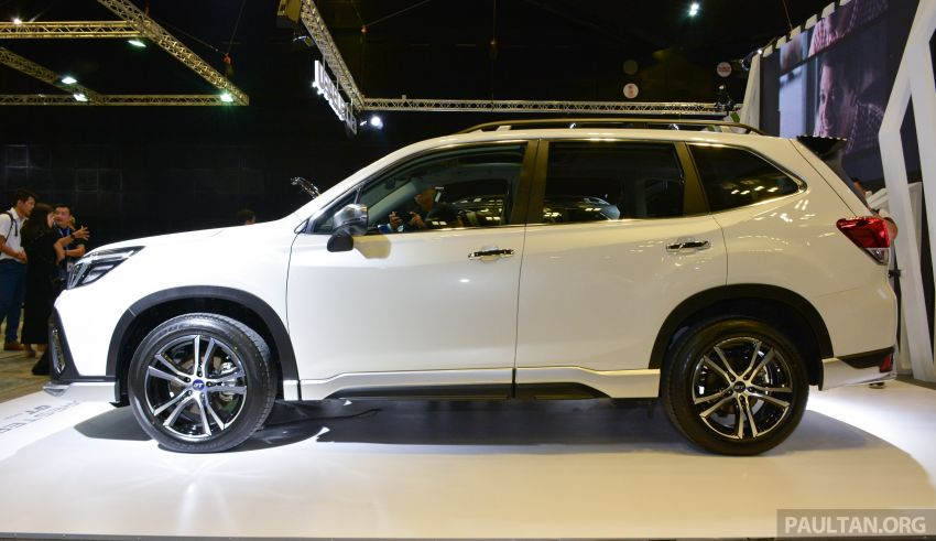2020 Subaru Forester GT Edition launched in S'pore Image #1066799