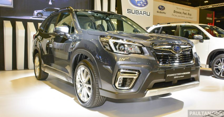 2020 Subaru Forester e-Boxer launched in Singapore – sole 2.0i-S EyeSight Hybrid variant; from RM378k Image #1066930
