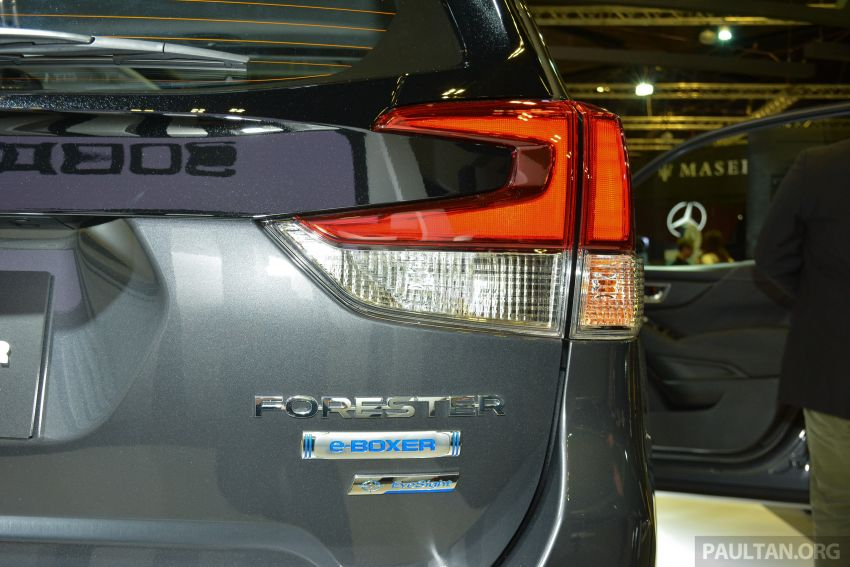 2020 Subaru Forester e-Boxer launched in Singapore – sole 2.0i-S EyeSight Hybrid variant; from RM378k Image #1066939