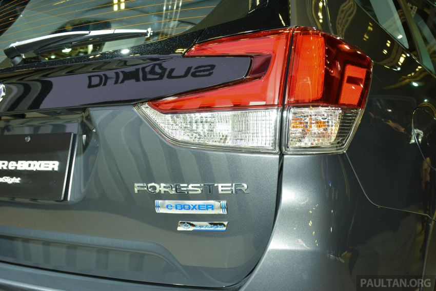 2020 Subaru Forester e-Boxer launched in Singapore – sole 2.0i-S EyeSight Hybrid variant; from RM378k Image #1066938