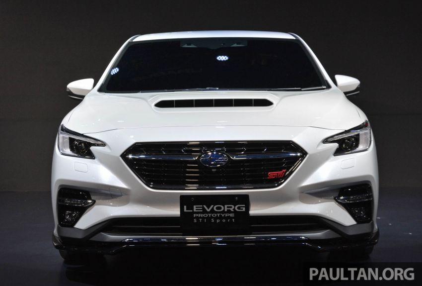 TAS 2020: Subaru Levorg Prototype STI Sport revealed Image #1069702