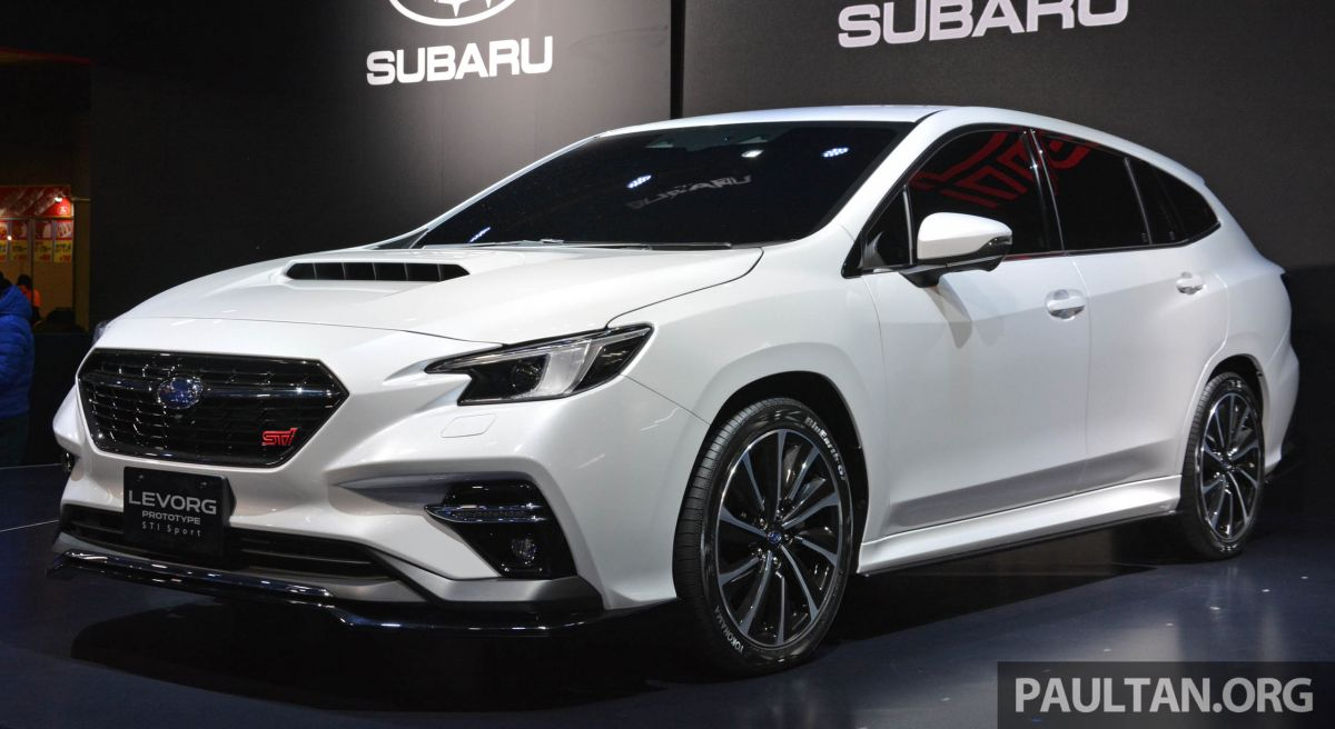 Sti For Sale >> TAS 2020: Subaru Levorg Prototype STI Sport revealed