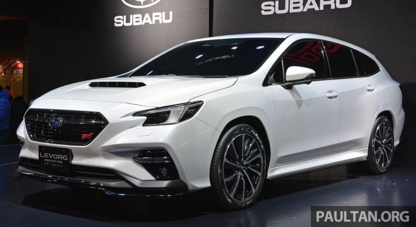 TAS 2020: Subaru Levorg Prototype STI Sport revealed Image #1069711