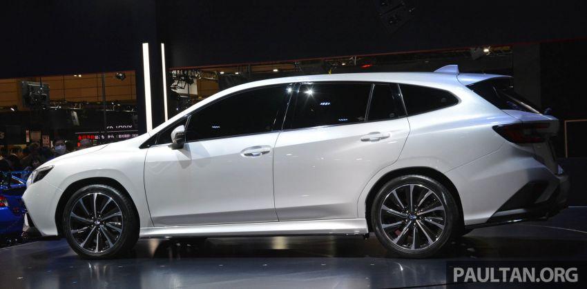 TAS 2020: Subaru Levorg Prototype STI Sport revealed Image #1069703
