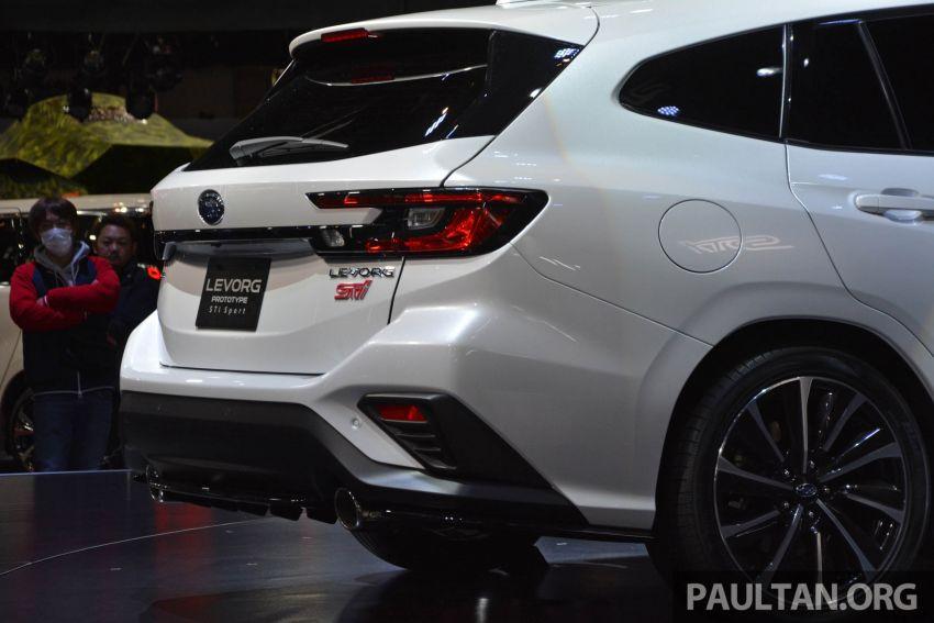 TAS 2020: Subaru Levorg Prototype STI Sport revealed Image #1069704