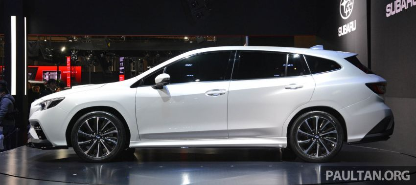 TAS 2020: Subaru Levorg Prototype STI Sport revealed Image #1069708