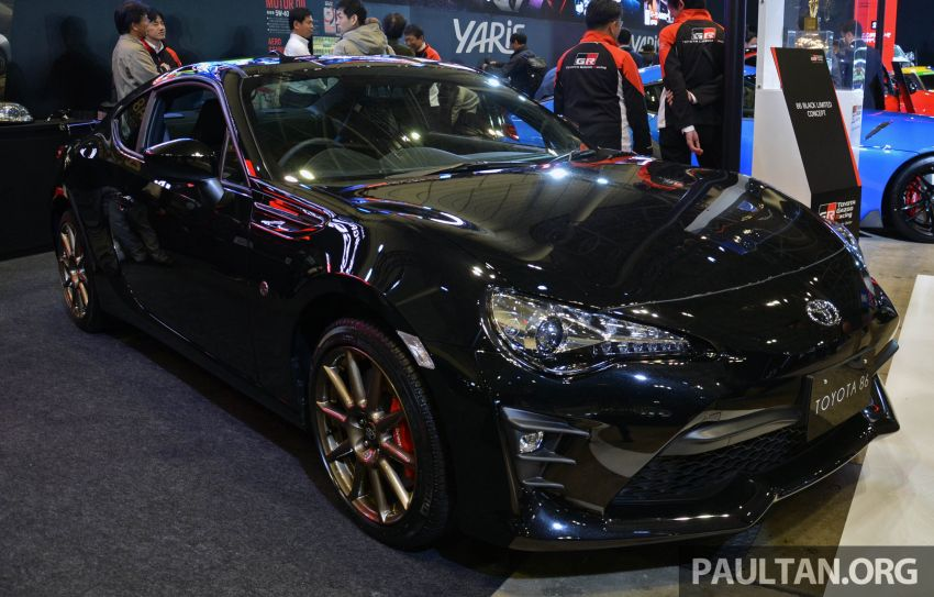 TAS 2020: Toyota 86 Black Limited Concept and AE86 Sprinter Trueno GT-Apex Black Limited on display Image #1069388