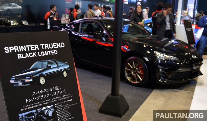 TAS 2020: Toyota 86 Black Limited Concept and AE86 Sprinter Trueno GT-Apex Black Limited on display Image #1069397