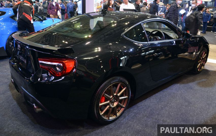 TAS 2020: Toyota 86 Black Limited Concept and AE86 Sprinter Trueno GT-Apex Black Limited on display Image #1069398