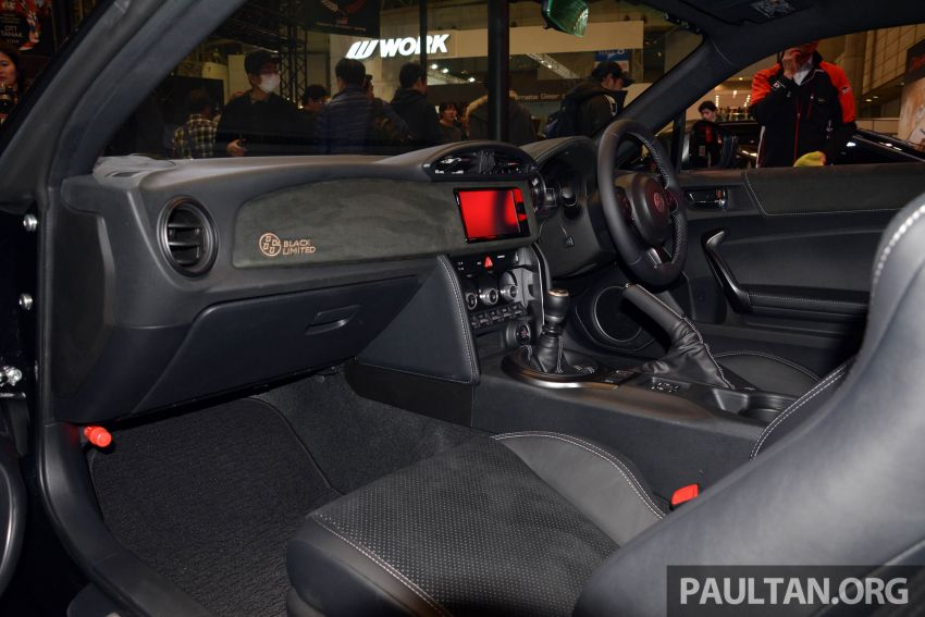 TAS 2020: Toyota 86 Black Limited Concept and AE86 Sprinter Trueno GT-Apex Black Limited on display Image #1069389