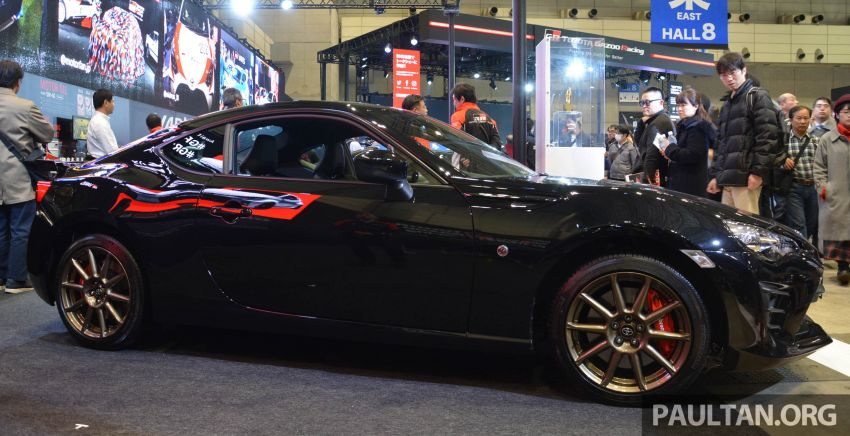 TAS 2020: Toyota 86 Black Limited Concept and AE86 Sprinter Trueno GT-Apex Black Limited on display Image #1069391