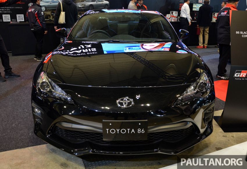 TAS 2020: Toyota 86 Black Limited Concept and AE86 Sprinter Trueno GT-Apex Black Limited on display Image #1069394