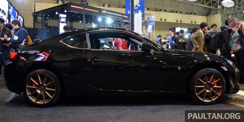 TAS 2020: Toyota 86 Black Limited Concept and AE86 Sprinter Trueno GT-Apex Black Limited on display Image #1069396