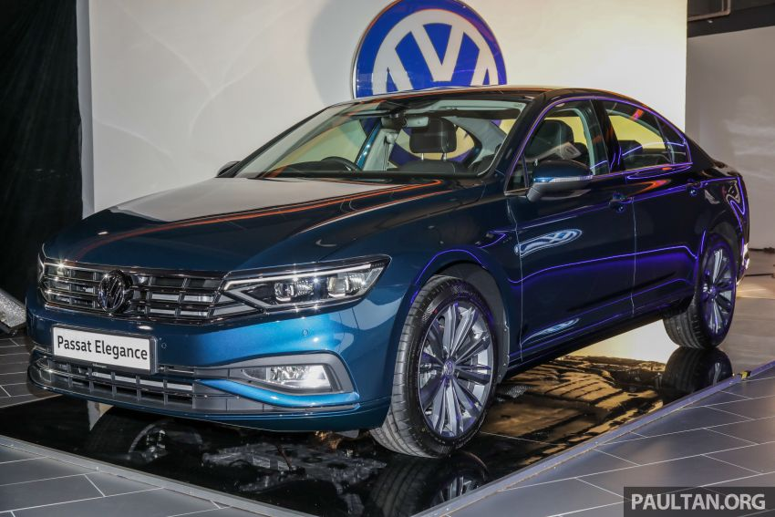 2020 Volkswagen Passat facelift launched in Malaysia – 2.0 TSI Elegance, new 7-speed wet DSG, RM189k Image #1068149