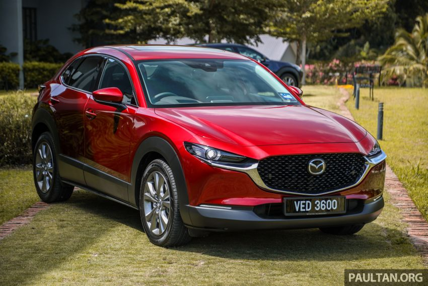 2020 Mazda CX-30 officially launched in Malaysia – three CBU variants; AEB and MRCC; from RM143k Image #1070340