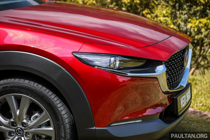 2020 Mazda CX-30 officially launched in Malaysia – three CBU variants; AEB and MRCC; from RM143k Image #1070349