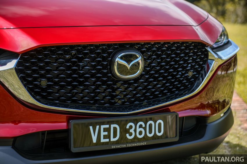2020 Mazda CX-30 officially launched in Malaysia – three CBU variants; AEB and MRCC; from RM143k Image #1070351