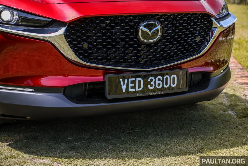 2020 Mazda CX-30 officially launched in Malaysia – three CBU variants; AEB and MRCC; from RM143k Image #1070353