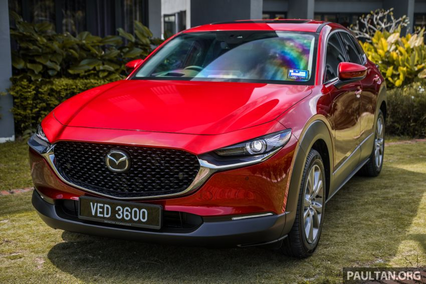 2020 Mazda CX-30 officially launched in Malaysia – three CBU variants; AEB and MRCC; from RM143k Image #1070341
